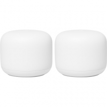 Google Nest Wifi AC220 (Router and Access Point) (2-Pack) Snow