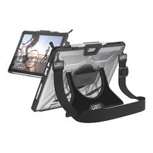UAG Rugged Case for Surface Pro 7, Pro 6, Pro 5 & Pro 4 w/ Handstrap & Shoulder Strap - Black Ice