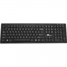 Xcellon KW-A300B Wireless Aluminum Keyboard