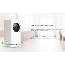 Wyze Cam Pan 1080p Wi-Fi Indoor Smart Home Camera Night Vision, 2-Way Audio (WYZECP1)
