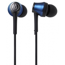 Audio Technica ATH-CKR55BTBL Sound Reality Wireless In-Ear Headphones (Blue)