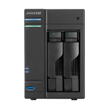 Asustor AS6302T 2 bay NAS (Intel Celeron J3355/2GB)