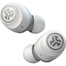 JLab Audio Go Air True Wireless In-Ear Headphones (White/Gray)