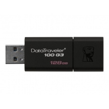 Kingston DataTraveler 100 G3 USB 3.0 flash drive 128GB (Black)