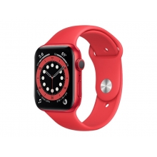 Apple Watch Series 6 44mm (GPS) PRODUCT RED, red aluminium case with Red sport band