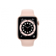 Apple Watch Series 6 44mm (GPS) gold aluminium case with Pink Sand sport band