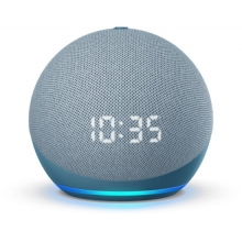 Amazon Echo dot (4th Gen) with clock έξυπνο ηχείο/ voice assistant (Twilight Blue)
