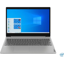 "Lenovo IdeaPad 3 (i5-1035G1/12GB/256GB SSD) Win 10 S, 15.6"" HD Touch (Platinum Gray)"