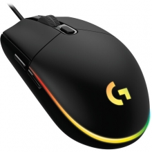 Logitech G G203 Lightsync RGB Mouse Black
