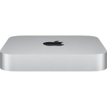 Apple Mac mini (M1 8-core/8GB/256GB SSD) macOS Big Sur 11.0 (Late 2020, Silver)
