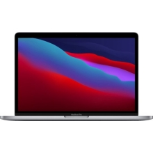 Apple MacBook Pro 13.3 with Touch Bar (M1 8-core/8GB/256GB SSD) macOS Big Sur 11.0 (Late 2020, Space Grey)