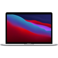 Apple MacBook Pro 13.3 with Touch Bar (M1 8-core/8GB/256GB SSD) macOS Big Sur 11.0 (Late 2020, Silver)