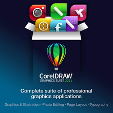 CorelDRAW Graphics Suite 2021 (Windows-PC Disk-Retail)