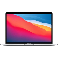 """Apple MacBook Air 13.3"""" with touch ID (M1 8-core/8GB/512GB SSD) macOS Big Sur 11.0 (Late 2020, Silver)"""