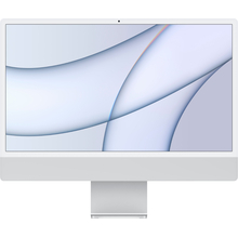 "Apple iMac 24"" with 4.5K Display (M1 8-core CPU/8-coreGPU/8GB/256GB SSD) Mac Os Big Sur (Mid 2021, Silver)"