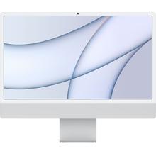 "Apple iMac 24"" with 4.5K Display (M1 8-core CPU/8-coreGPU/8GB/512GB SSD) Mac Os Big Sur (Mid 2021, Silver)"