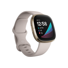 FITBIT Sense Έξυπνο Ρολόι (Λευκό/Χρυσό)