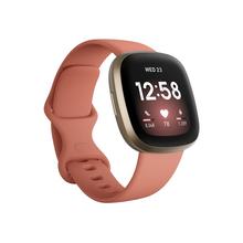 FITBIT Versa 3 Έξυπνο Ρολόι Pink Clay / Χρυσό