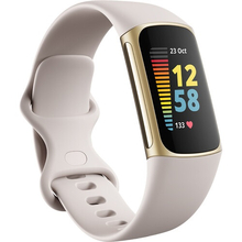 FITBIT Charge 5 Activity Tracker - Lunar White