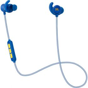 JBL Reflect Mini Wireless Earbuds (Blue & Gold)