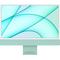 "Apple iMac 24"" with 4.5K Display (M1 8-core CPU/8-coreGPU/8GB/256GB SSD) Mac Os Big Sur (Mid 2021, Green)"